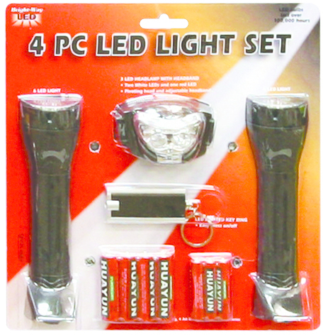 110LED 4PC LED LANTERN SET
