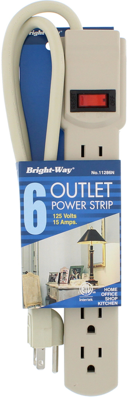 11286 6 OUTLET POWER STRIP