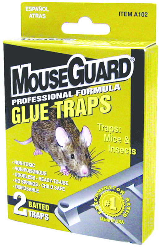 A102N 2PK MOUSE GLUE TRAP