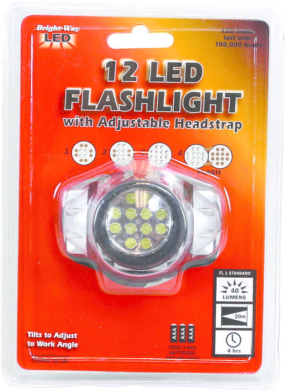 CL18 3AAA 12LED HEADLIGHT