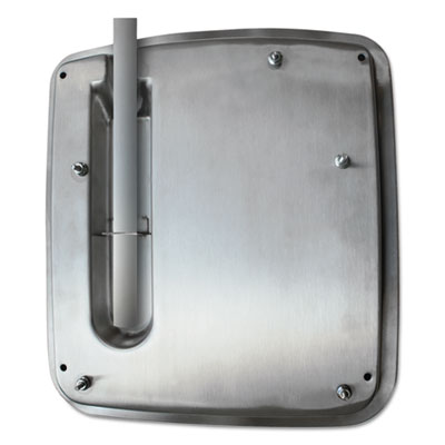 VERDEdri Hand Dryer Top Entry Adapter Kit, 14 3/8 x 1 1/4 x 13 1/2, Stainless