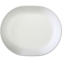 Corelle 6003110 Serving Platter, 1-1/4 in W x 12-1/4 in L, Corelle Glass, White