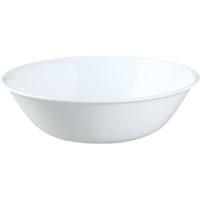 BOWL SERVING 1QT FROST WHITE