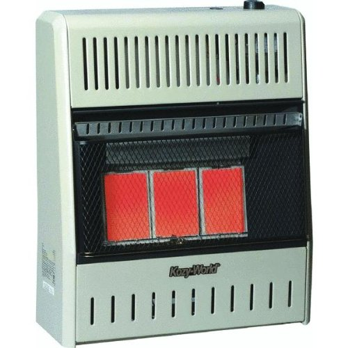 18,000-BTU Vent-Free Natural-Gas Infrared Wall Heater