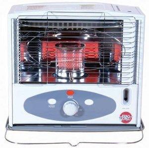 10,000 BTU Indoor Kerosene Heater, Gray