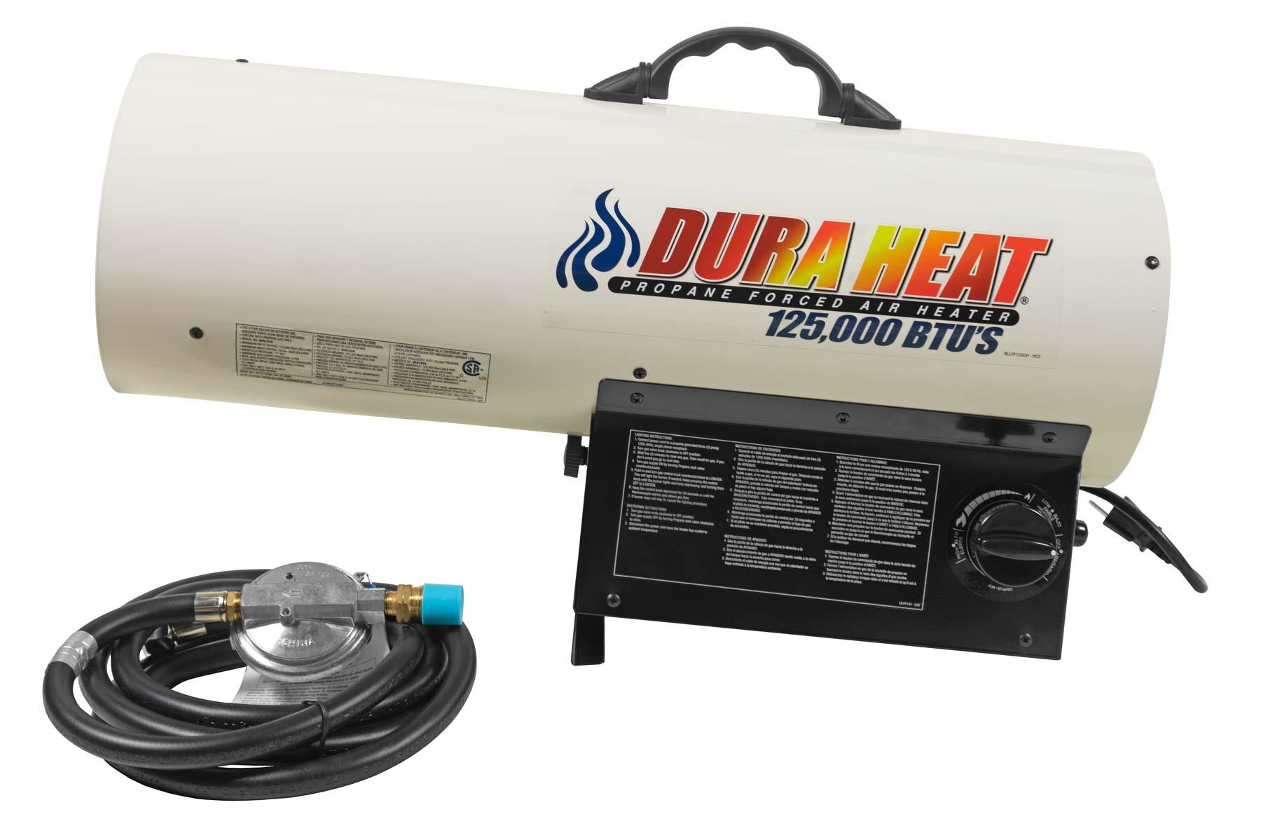 Gfa125A Variable Forced Air Heater