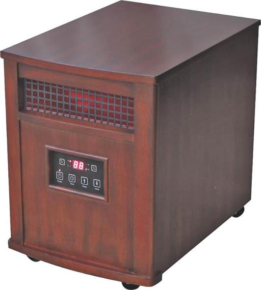 Comfort Glow QEH1501 Infrared Portable Electric Heater, 5120 BTU, 1000 sq-ft, 750 W