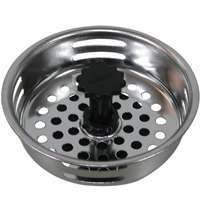 WorldWide Sourcing 24464-3L Sink Strainer With Adjustable Post, Stainless Steel