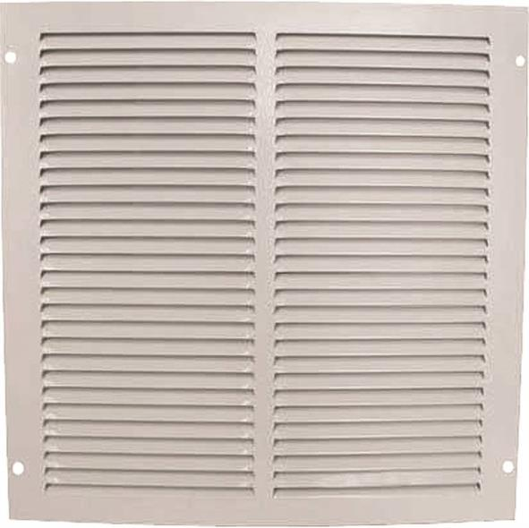 Mintcraft 1RA1212 Return Air Grille, 12 in H x 12 in W, White