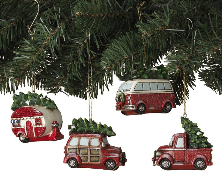 HOLIDAY VEHICL W/TREE ASST 3.7