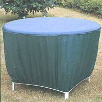 VNYL RND PATIO TABLE COVER
