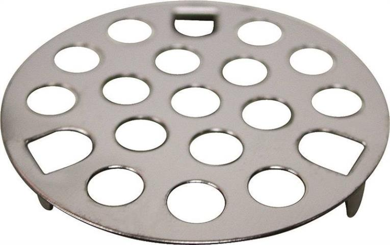 Worldwide Sourcing PMB-146 3-Prong Snap-In Drain Guard Strainer, 1-5/8 in