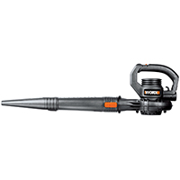 Worx WG506 Blower/Sweeper, 160 cfm, 120 V, 7.5 A, Orange/Black
