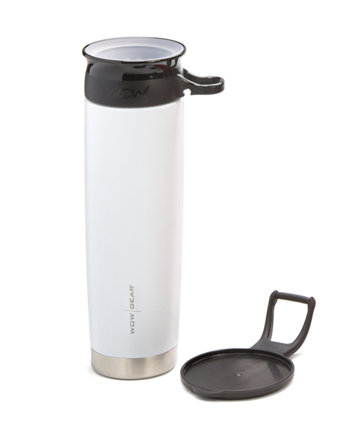 WOW Gear 360 Stainless Steel Cup, 22oz, Whit