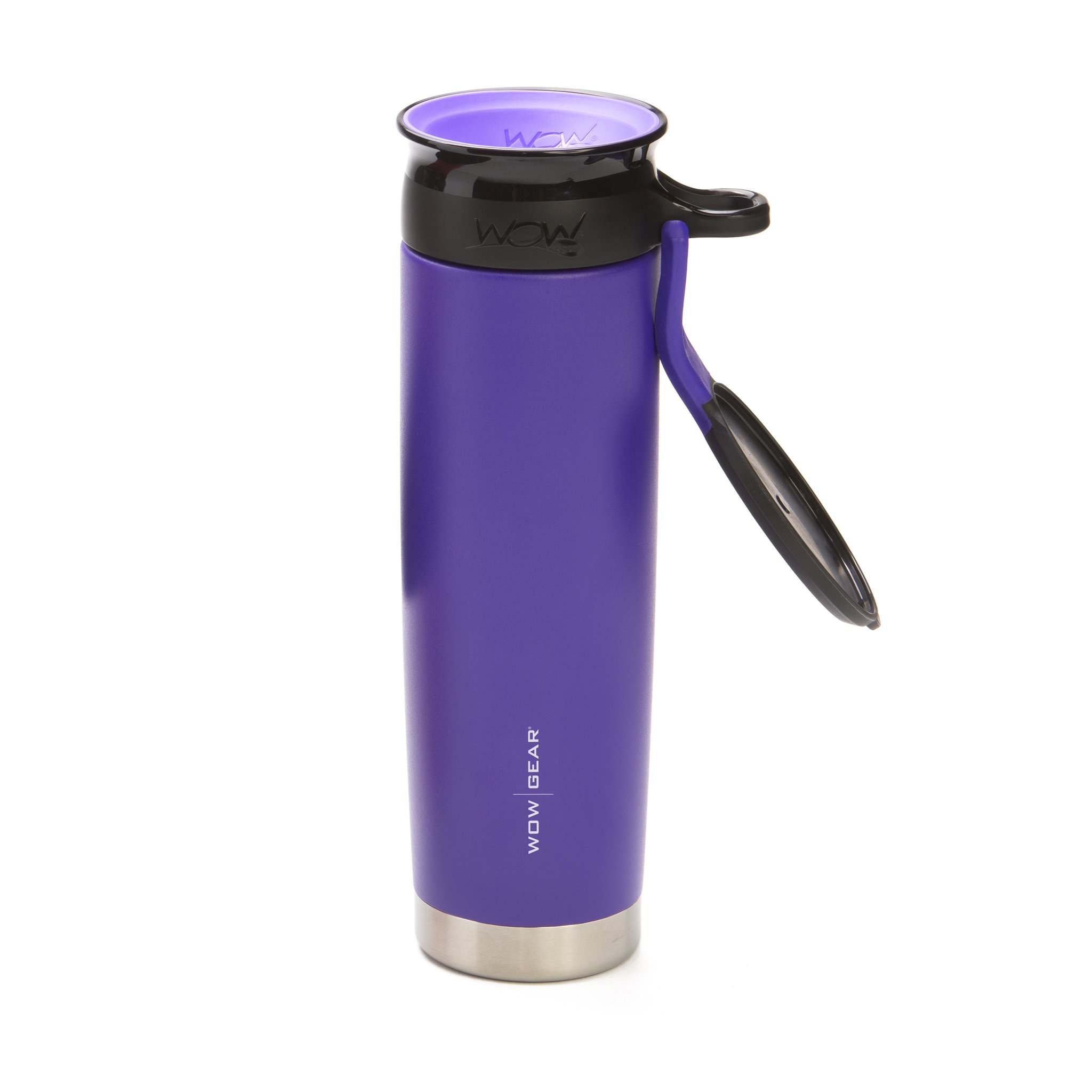 WOW Gear 360 Stainless Steel Cup, 22oz, Purp