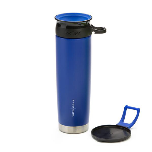 WOW Gear 360 Stainless Steel Cup, 22oz, Blue