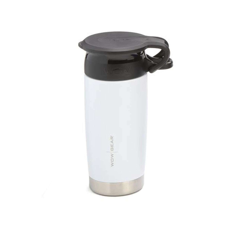 WOW Gear 360 Stainless Steel Cup, 13.5oz, Wh