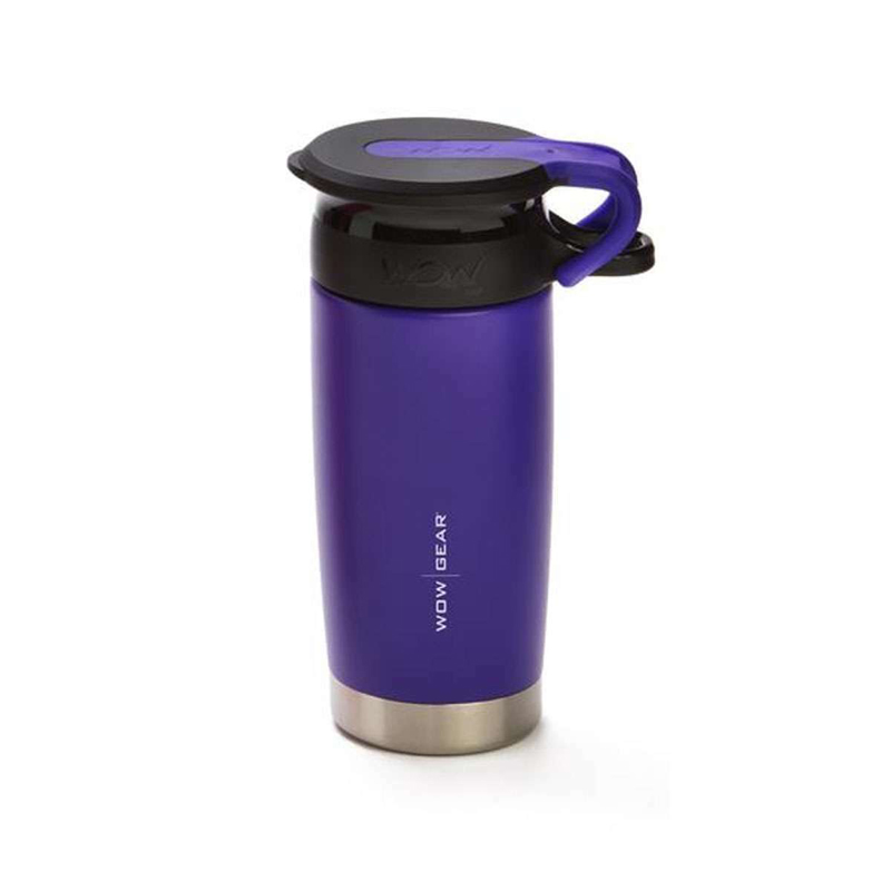 WOW Gear 360 Stainless Steel Cup, 13.5oz, Pu