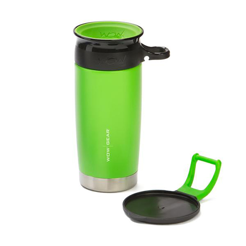 WOW Gear 360 Stainless Steel Cup, 13.5oz, Gr