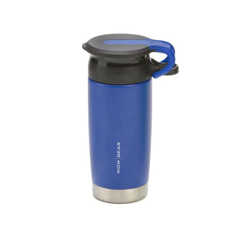 WOW Gear 360 Stainless Steel Cup, 13.5oz, Bl