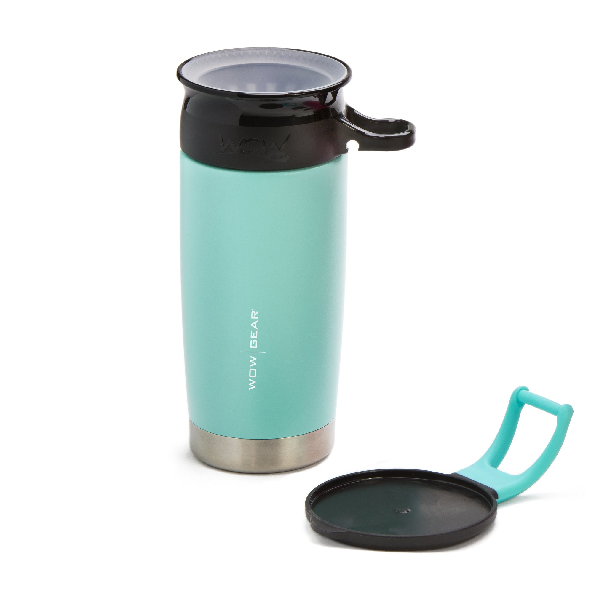 WOW Gear 360 Stainless Steel Cup, 13.5oz, Tu