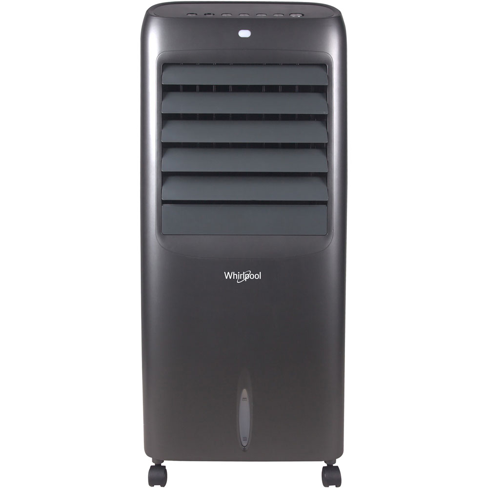 Whirlpool 12 Pint Indoor Evaporative Cooler, 214 CFM, Remote, Ice Pack