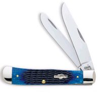 028 BLUE BONE TRAPPER KNIFE