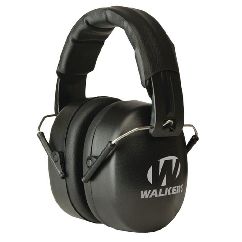 Walker's EXT Passive Folding Muff-34dB NRR-Black