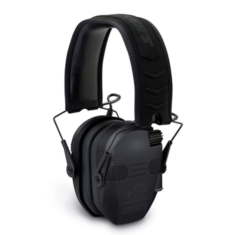Walkers Razor Slim Electronic Quad Muff w/Bluetooth - Black