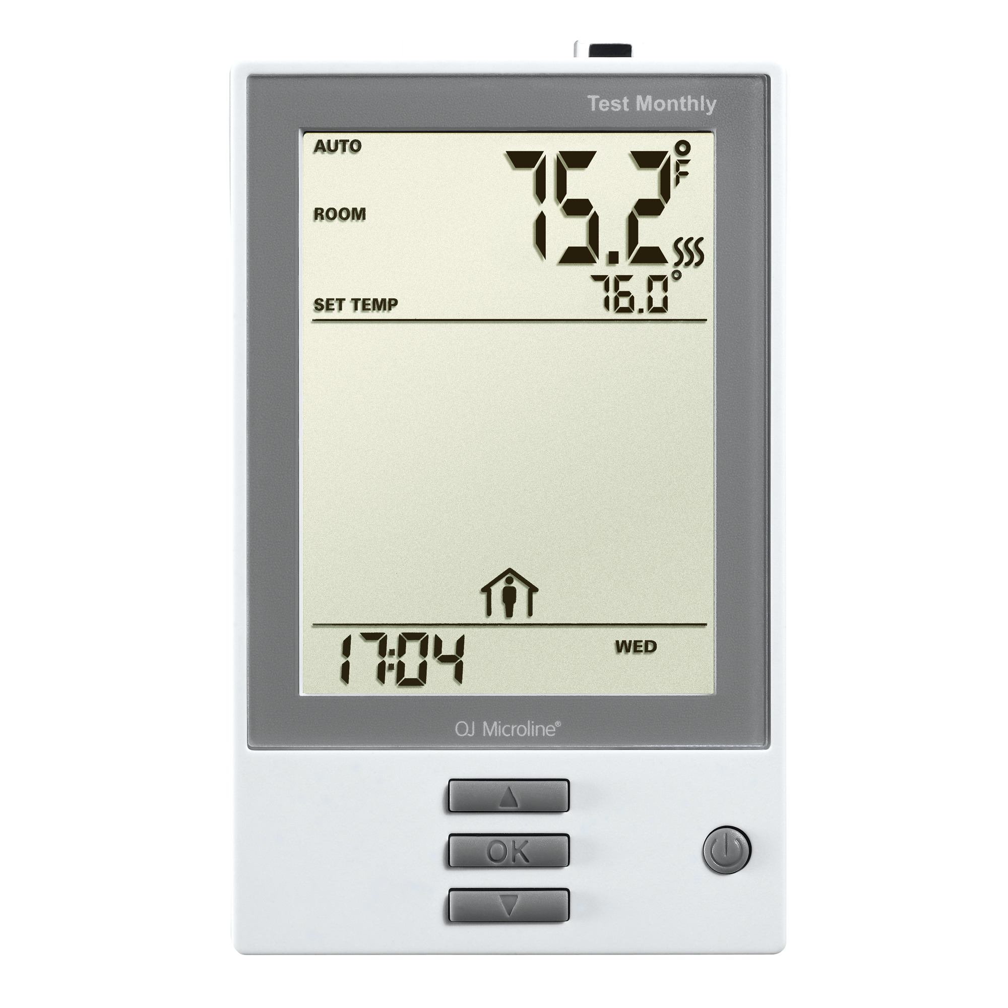 nHance: Thermostat. Programmable, Class A GFCI, w/Floor Sensor