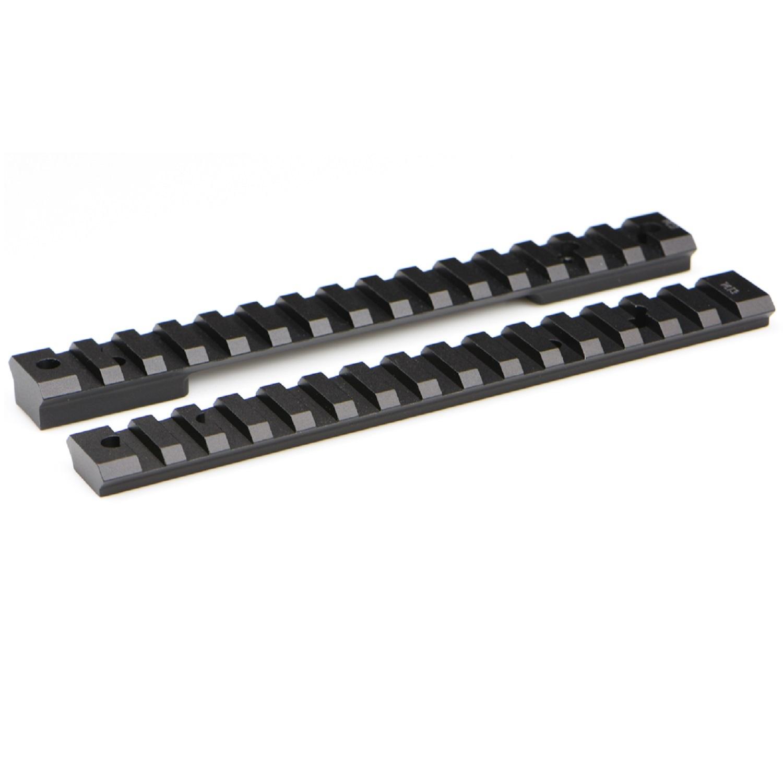 Warne Mountain Tech Remington 700 Short Action Rail - Zero