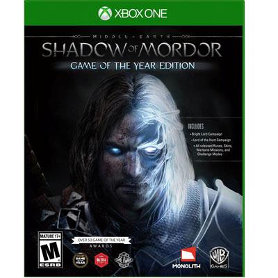 ME Shadow of Mordor GOTY Xbox One