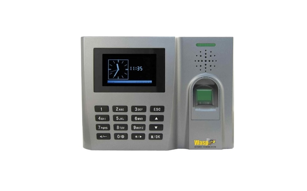 Wasp B2000 Biometric Time Clock Fingerprint Reader 633808551438