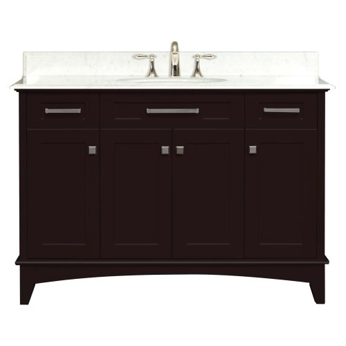 "Manhattan Collection 48"" Wide Single Sink Vanity"