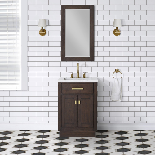 "Chestnut 24"" Single Bathroom Vanity"