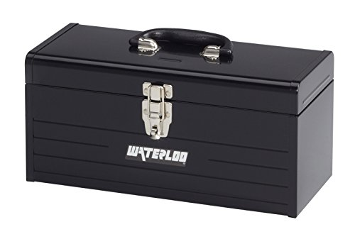 *16IN METAL TOOL BOX BLK