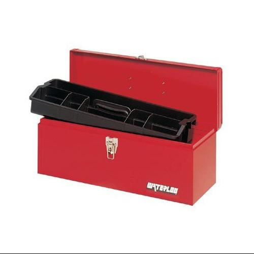 *20IN METAL TOOL BOX BLK