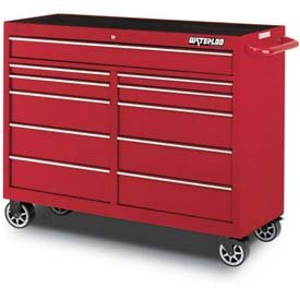 S/O* 52IN 11-DRAW CAB-RED