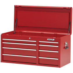 S/O 41IN 8 DRAW CHEST RED