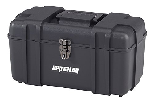 17IN PLASTIC TOOL BOX BLK