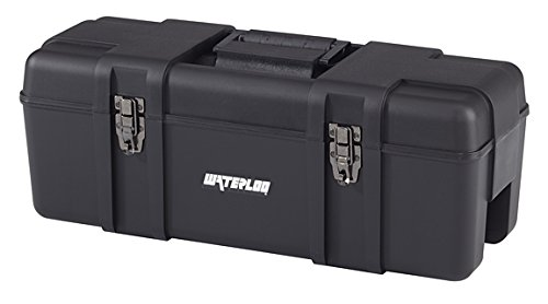 26IN PLASTIC TOOL BOX BLK