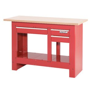 S/O* 3-DRAW WORKBENCH RED