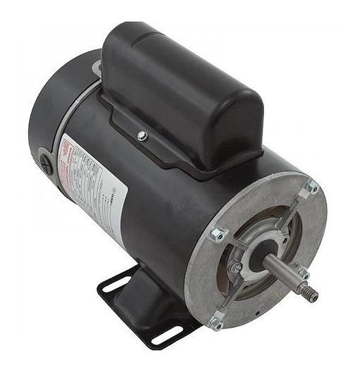 Motor, A.O.Smith, Thru-Bolt, 48-Frame, 2-Speed, 1.0HP, 115V, 11.0/2.9 Amp