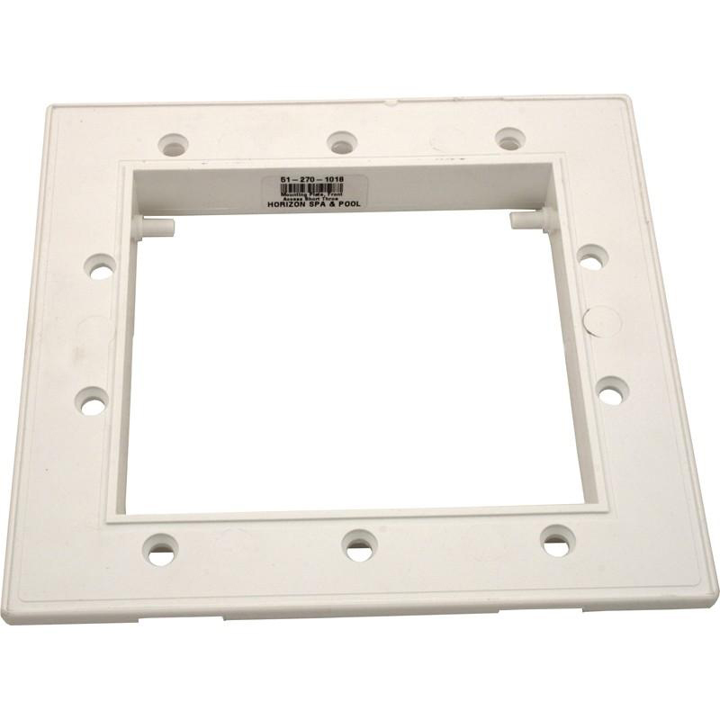 Fliter Mounting Plate, Waterway, Front Access Skim Filter, White