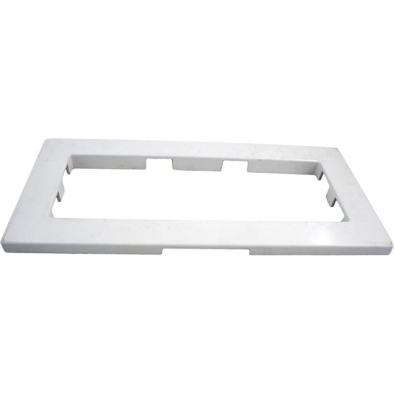 TRIM PLATE, WIDE MOUTH WHITE