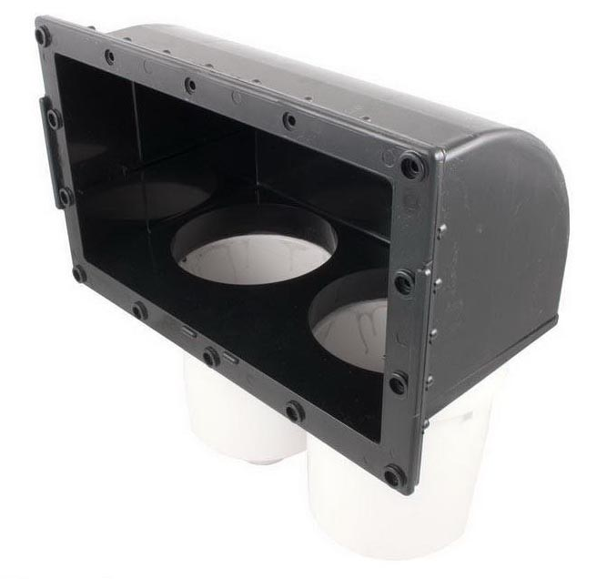 Filter Front Access Body Assy,WATERW,100 Sq Ft Skim Filter