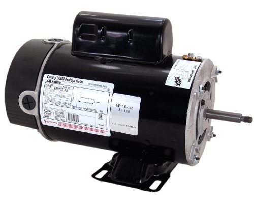 Motor, A.O.Smith, Thru-Bolt, 48-Frame, 2-Speed, 2.0HP, 230V, 8.5/2.8 Amp