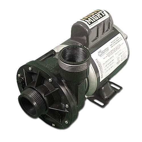 """Circulation Pump, Waterway Iron Might, 1/15HP, 230V, 0.8A, 1-Speed, 40GPM, 48-Frame, 1-1/2""""MBT, SD"""
