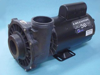 "Pump, Waterway Executive 56, 4.0HP, 230V, 12.0/4.4A, 2-Speed, 2-1/2"" x 2""MBT, SD, 56-Frame"