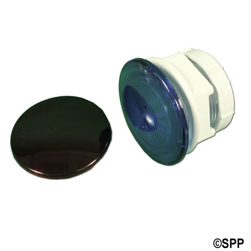"Light Lens Kit, Waterway, OEM, Rear Access, 3-1/2""Face, 2-1/2""Hole"